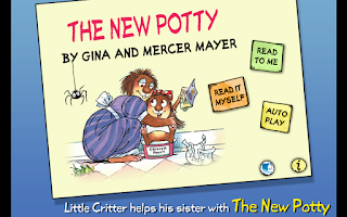 Screenshot of The New Potty - Little Critter