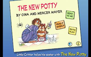 Screenshot of The New Potty - Little Critter