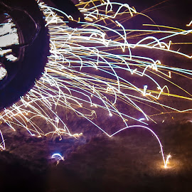 by Anurag Reddy - Abstract Fire & Fireworks
