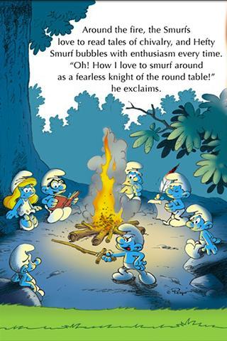 【免費漫畫App】The Smurfs - The Smurf Knight-APP點子