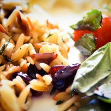Bacon and Goat Cheese Orzo Recipe