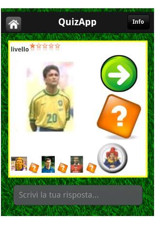 QuizApp stickers footballers