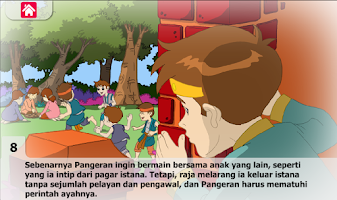 Screenshot of Dongeng Pangeran Budiman