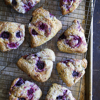 Mixed Berry and Jasmine Tea Scones