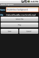Screenshot of AmbientMix