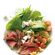 Steak Salad with Spinach
