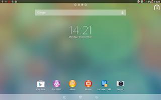 Screenshot of Xperia™ theme - Clean Foggy
