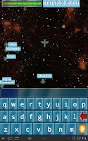 Screenshot of Qwerty Space Wars