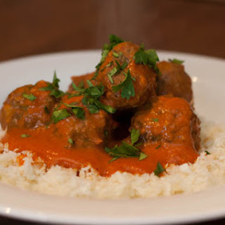 Coconut Curry Lamb and Beef Meatballs