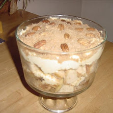 Toffee Apple and Honey Trifle