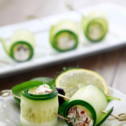 Cucumber Feta Rolls Recipe   Yummly