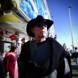 The Sherif by Liam Payne - People Portraits of Men ( portrait and people, fashion, summer, day out, grandparents )