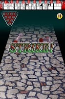 Screenshot of Zombie Bowling
