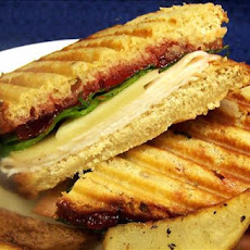 Turkey & Swiss Panini