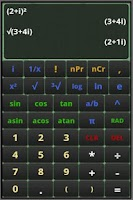 Screenshot of MathPac - Graphing Calculator