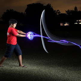 by Scott Yoshino - Abstract Light Painting