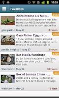Screenshot of Craigslist Mobile Pro