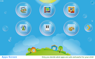 Screenshot of KidsWorld: safe place for kids