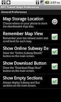 Screenshot of NYC Bus & Subway Maps