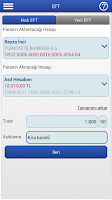 Screenshot of Finansbank Cep Şubesi
