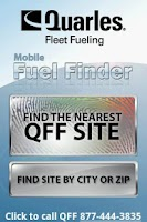 Screenshot of QFF Mobile Fuel Finder