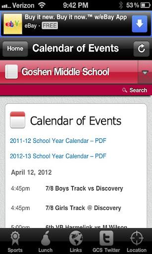 Goshen Middle School