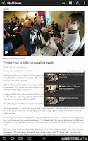 Screenshot of Star Tribune News