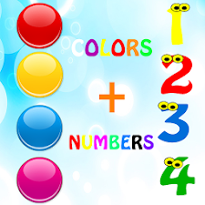 Learn colors numbers ad free