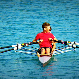 Rowers by Tihomir Beller - Sports & Fitness Watersports ( watersport, jake, rowers, sports )