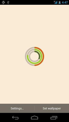 【免費個人化App】Live Wallpaper - ArcClock-APP點子