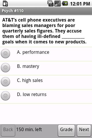 CLEP Psychology Exam Prep