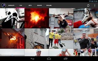 Screenshot of Glimmr, for Flickr
