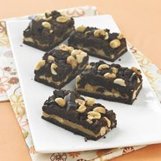 Chocolate-Peanut Butter Cookie Bars
