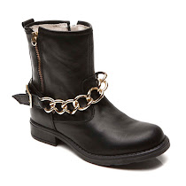 Step2wo Hinde - Gold Chain Boot BOOT