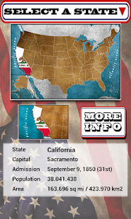 USA: States, Capitals & Flags - screenshot