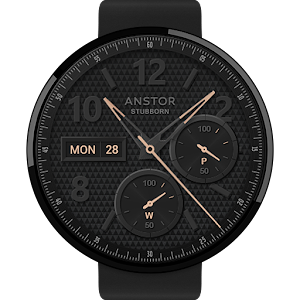 Stubborn watchface by Anstor