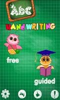 Screenshot of ABC HandWriting FREE