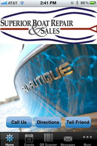 Superior Boat Repair Sales