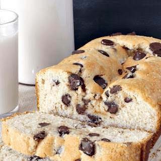 Almond Chocolate Chip Cake Loaf