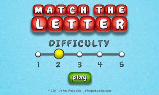 Match The Letter