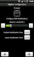 Screenshot of DigiBat Battery Widget
