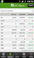 Screenshot of RJO Mobile Trader