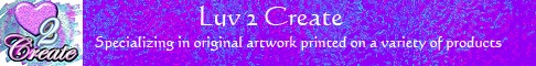 Luv 2 Create logo