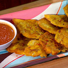 Fried Plantains with Sweet Heat
