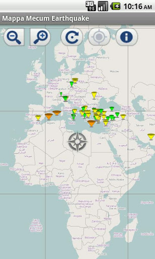 Mappa Mecum Earthquakes