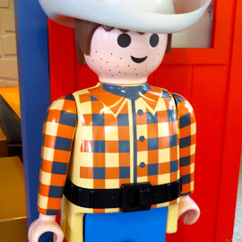 Playmobil Cowboy by Alan Chew - Artistic Objects Toys