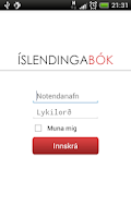 Screenshot of ÍslendingaApp SES(Beta)