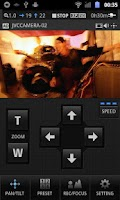 Screenshot of JVC CAM Control Single
