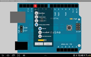 Screenshot of ArduinoCommander