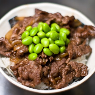 Gyudon (beef Rice Bowl)